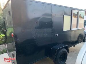 2012 - 6' x 12' Street Food Concession Trailer / Used Mobile Food Vending Unit.