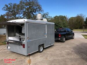 2005 - 8' x 14' Mobile Kitchen / Shaved Ice Full Service Concession Trailer.