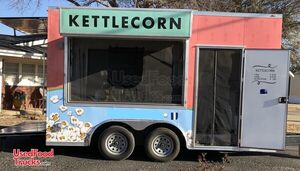 Lightly Used 2019 Anvil 8.5' x 14' Popcorn/ Kettle Corn Concession Trailer.