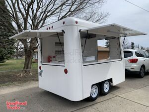 Lightly Used 2020 FibreCore 7' x 10' Like-New Shaved Ice Concession Trailer.