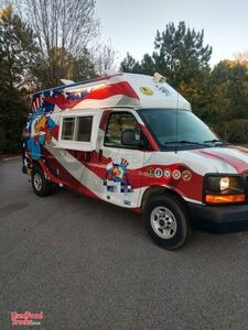 Turnkey Used 2010 GMC Savanna 3500 20' Ice Cream Truck.