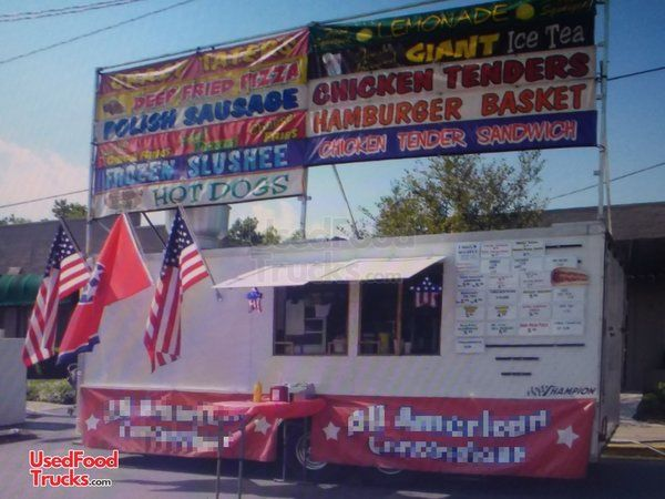 2009 Homesteader 8' x 20' Food Concession Trailer / Mobile Kitchen Unit.