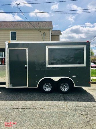 2016 - 7' x 14' Food Concession Trailer / Tailgating Trailer.