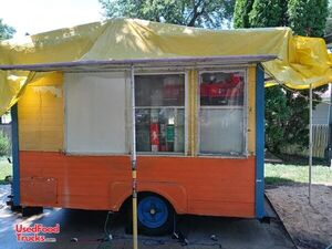 Permitted 15' Ready to Work Street Food Concession Trailer.