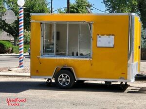 2020 - 7' x 12' Lightly Used Clean Street Food Concession Trailer.