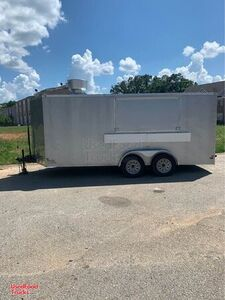 2019 - 7' x 16' Food Concession Trailer / Ready to Go Mobile Kitchen.