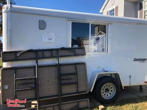 2020 12' Homesteader Challenger Street Food Concession Trailer.