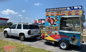 Ready to Use 2018 Compact Street Food and Beverage Concession Trailer.