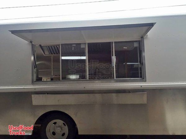 Never Used Chevrolet Diesel Step Van Kitchen Food Truck w/ Pro Fire Suppression.