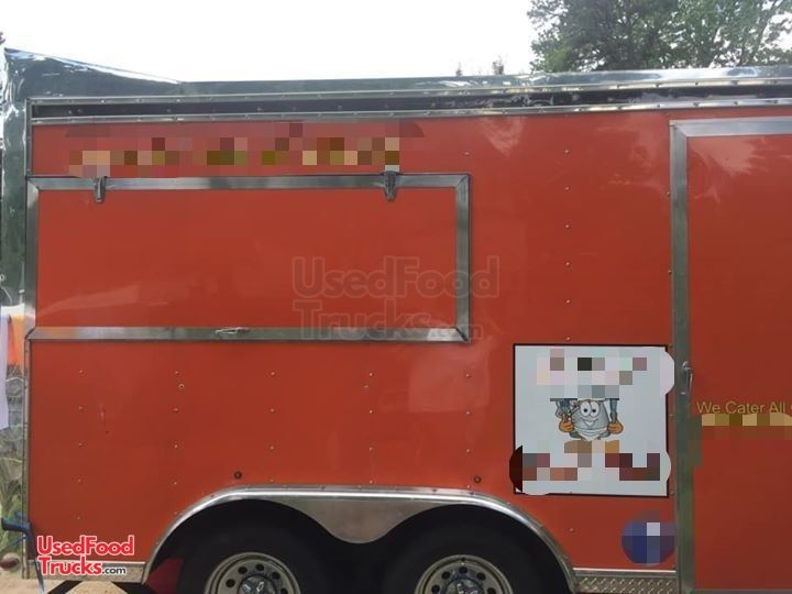 Food Concession Trailer Kitchen Trailer