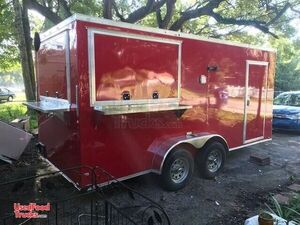 7' x 16' NEW Food Concession Trailer / Mobile Kitchen.