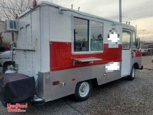 Used Basic Chevrolet Food Truck Mobile Kitchen, Has Newer Engine.