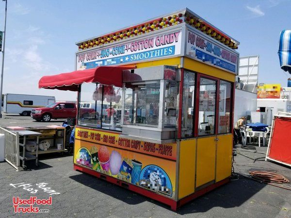 7' x 8' Pomona Street Food Concession Stand/Used Festival Concession Trailer.