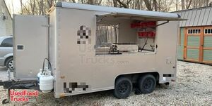 8' x 12' Wells Cargo Used Food Concession Trailer / Mobile Kitchen Unit.